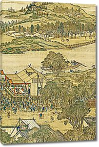 Ярмарка в древнем Китае