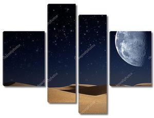 Пустыня ночью
