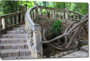 Декоративные каменный мост