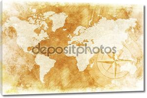 Карта деревенском мира