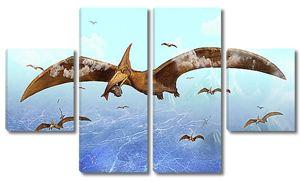 Летающий динозавр