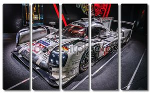 FRANKFURT - SEPT 2015: Porsche 919 Hybrid presented at IAA Inter