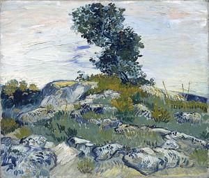 Ван Гог. Валуны и дуб