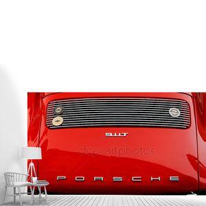 Винтажный автомобиль Porsche Logo
