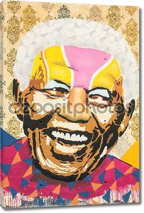 дань Нельсон Мандела