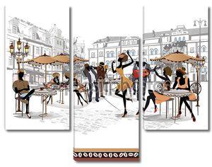 Арт уличных кафе