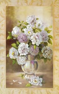 Ваза с цветами в рамке