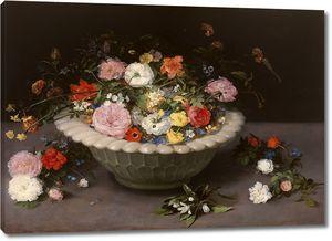 Брейгель Ян (Старший). Натюрморт с цветами