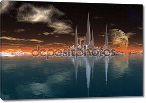 ракета город на чужой планете, 05