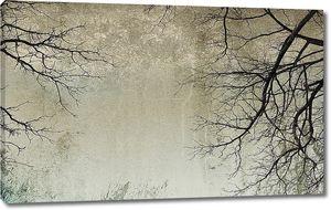 Голые ветки деревьев