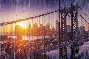 Восход солнца в Манхэттене