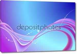 Абстрактный фон с розовыми линиями