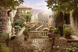 Фреска Старый город