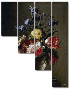 Хуан де Арельяно. Цветы в вазе