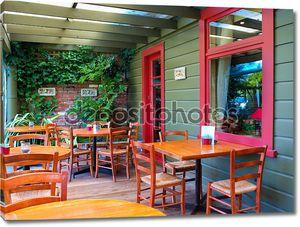 Porch of a Cafe