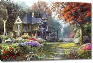 Старинный дом в парке
