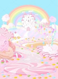Розовое волшебное королевство