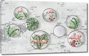 Фламинго в кругах