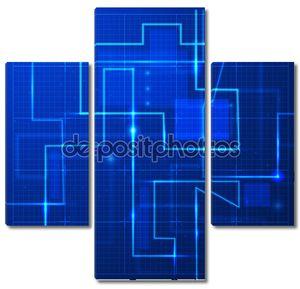 Абстрактный сети фон