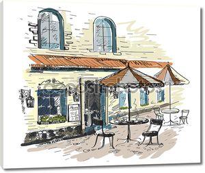 уличное кафе