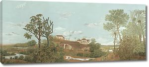 Пейзаж с домом