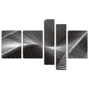 Абстрактная черно-белая деревянная структура
