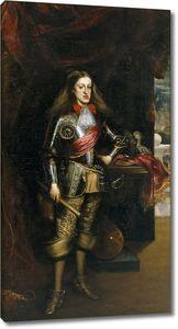 Карреньо де Миранда Хуан. Карл II в доспехах