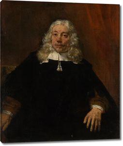 Рембрандт. Портрет седовласого мужчины