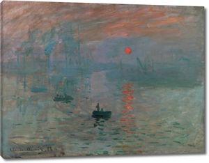 Моне Клод. Впечатление, Восход, 1873