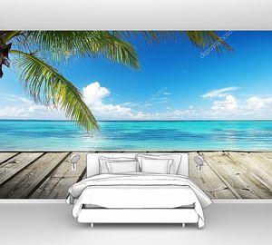 Карибское море и прекрасное небо