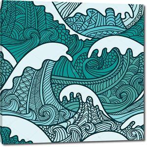 Морские волны. Японские мотивы