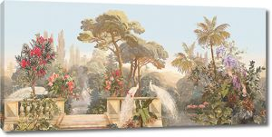Райский цветущий сад