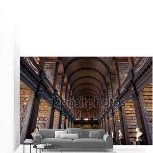 долгое обслуживание в библиотеке колледжа Тринити