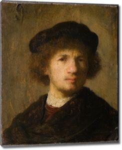Рембрандт. Автопортрет (1630)