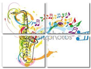 Фестиваль музыки. Векторные иллюстрации
