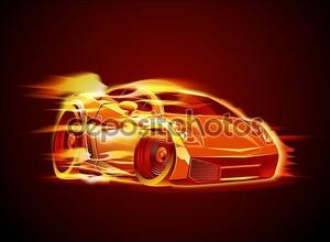 вектор современный мультипликационный автомобиль