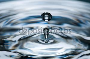 Необычная капля воды