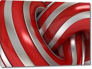3-й абстрактный фон красный металл