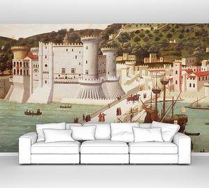 Тавола Строцци. Вид на Неаполь (фрагмент)