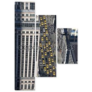 В Нью-Йорке такси