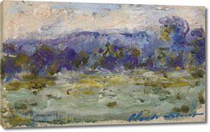 Моне Клод. Сена в Порт-Виле, 1908-09