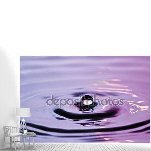 Всплеск специальные поверхности капельного падение воды падение дождевая капля воды падение жидкости