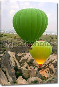 шоу воздушные шары в Каппадокии, Турция