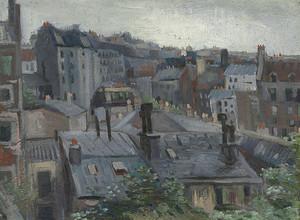 Ван Гог. Вид из Студии Винсента