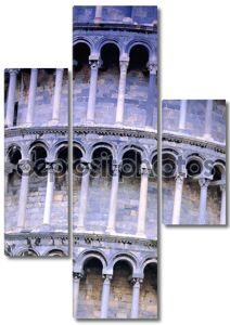 Крупным планом Пизанская башня