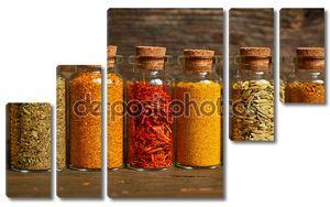 специи, травы и семена
