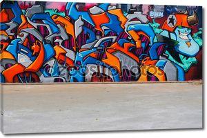 Уличное искусство на стене