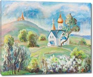 Церковь в горах