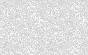 Монохромный тисненый орнаментальный узор