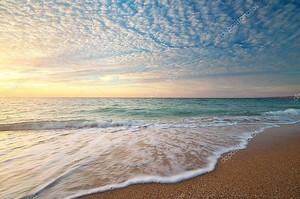 Красивый красивый вид на море